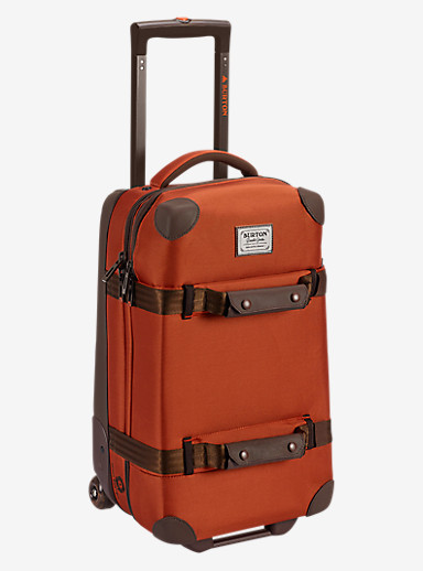 Burton Wheelie Flight Deck Travel Bag shown in Burnt Ochre [bluesign® Approved]