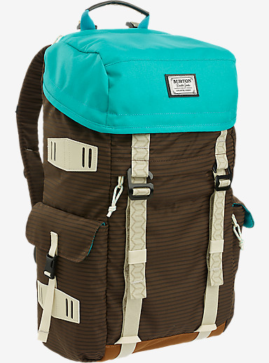 Burton Annex Backpack shown in Beaver Tail Crinkle [bluesign® Approved]