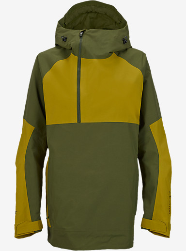 Burton [ak] 2L Elevation Anorak Jacket shown in Keef / Lychee