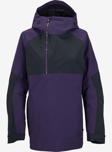 Burton [ak] 2L Elevation Anorak Jacket shown in Purple Label / True Black