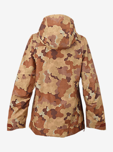 Burton [ak] 2L Elevation Anorak Jacket shown in Storm Camo