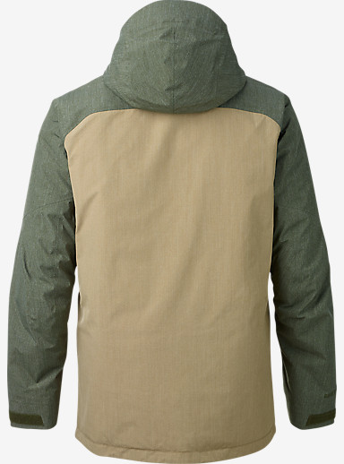 Burton [ak] 2L Helitack Jacket shown in Putty / Keef