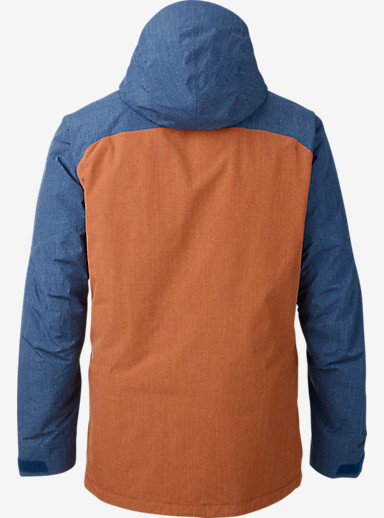 Burton [ak] 2L Helitack Jacket shown in Boro / Adobe