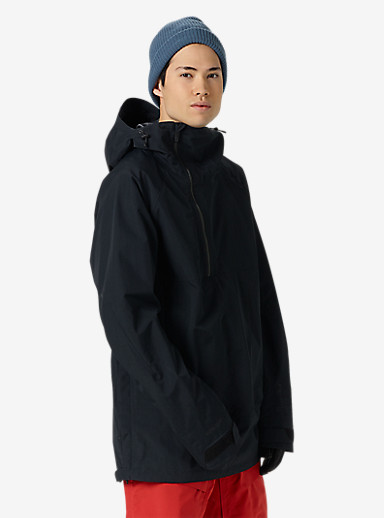 Burton [ak] 2L Velocity Anorak shown in True Black