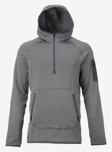 Burton [ak] Piston Hoodie shown in Faded Heather