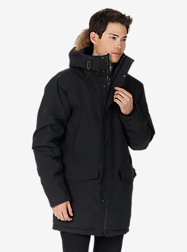 Burton Garrison Jacket shown in True Black