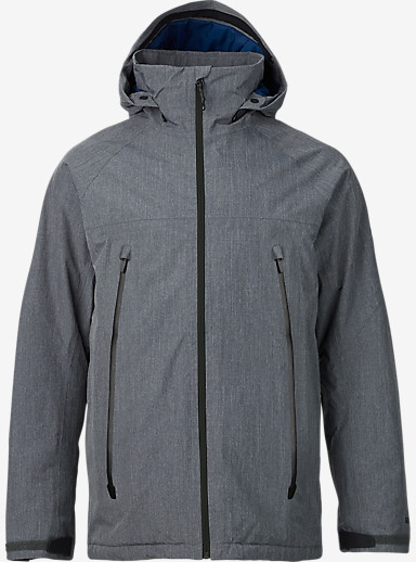 Burton Ether Jacket shown in Faded Ripstop