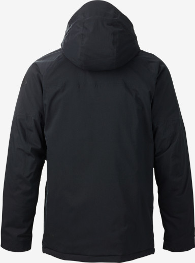 Burton Caliber Jacket shown in True Black