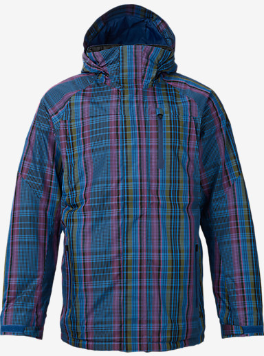 Burton Caliber Jacket shown in Mercer Plaid