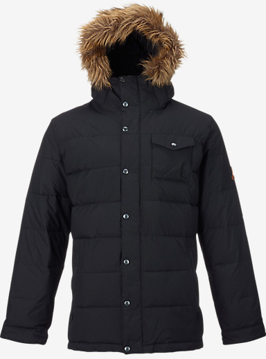 Burton Traverse Jacket shown in True Black