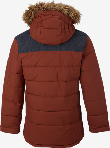Burton Traverse Jacket shown in Matador / Denim