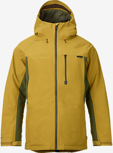 Burton Radial Jacket shown in Evilo Keef Blocked