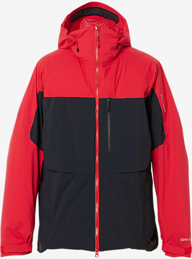 Burton AK457 Light Down Jacket shown in Navy / Red