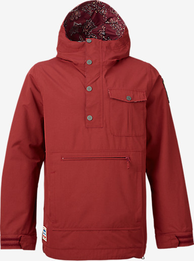 Burton Sawyer Anorak Jacket shown in Tawny