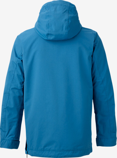 Burton Sawyer Anorak Jacket shown in Glacier Blue