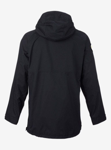 Burton Rambler Anorak Jacket shown in True Black