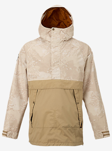 Burton Rambler Anorak shown in Hawaiian Desert / Kelp