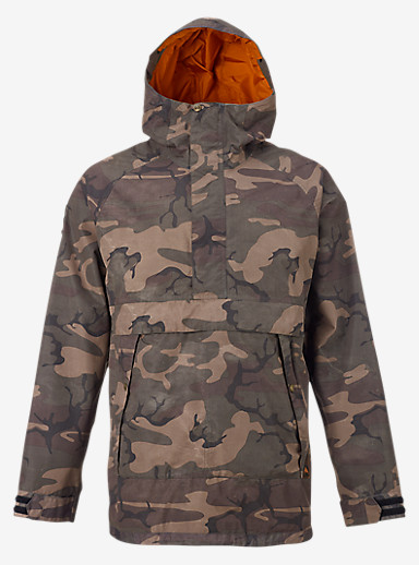 Burton Rambler Anorak Jacket shown in Bkamo