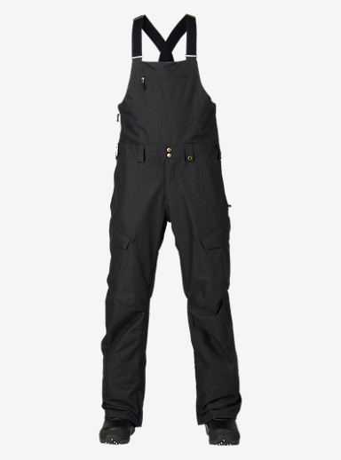 Burton Reserve Bib Pant shown in True Black