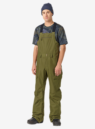 Burton Reserve Bib Pant shown in Keef