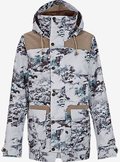 Burton Fremont Jacket shown in Winter Toille