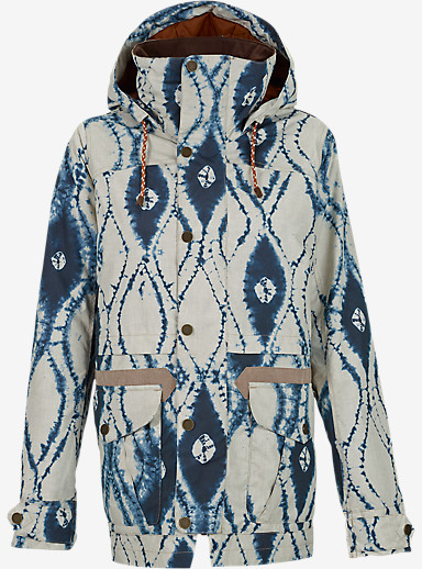 Burton Fremont Jacket shown in Indigo Batik