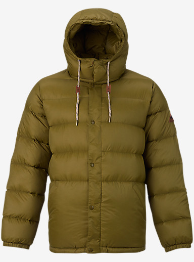 Burton Heritage Down Jacket shown in Fir