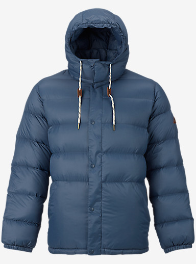 Burton Heritage Down Jacket shown in Washed Blue
