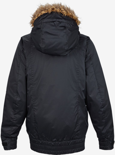 Burton Monarch Jacket shown in True Black [bluesign® Approved]