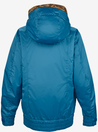 Burton Monarch Jacket shown in Pacific [bluesign® Approved]