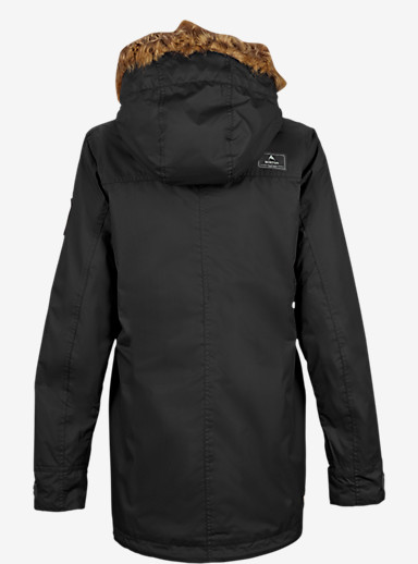 Burton Hazel Jacket shown in True Black / True Black Waxed