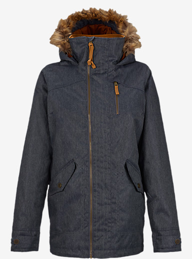 Burton Hazel Jacket shown in Denim [bluesign® Approved]