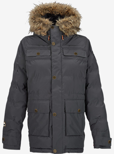 Burton Essex Puffy Jacket shown in Faded