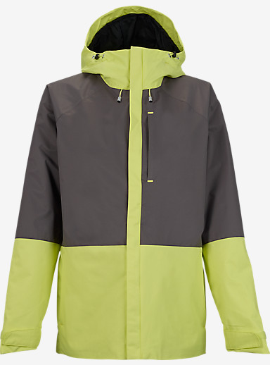 Burton Radar Jacket shown in Heathers / Sunny Lime [bluesign® Approved]