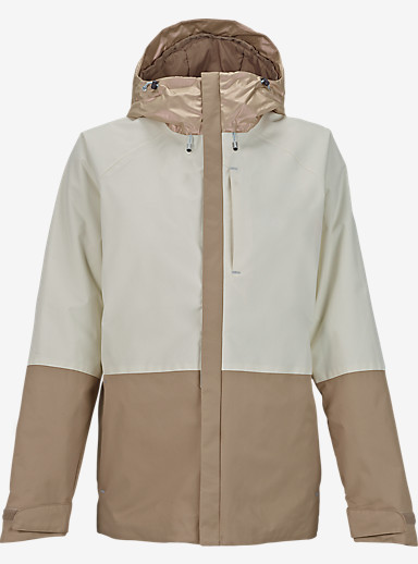 Burton Radar Jacket shown in Sandstruck Metallic / Stout White / Sandstruck [bluesign® Approved]