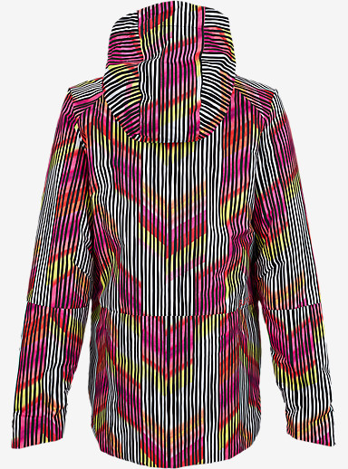 Burton Radar Jacket shown in Rainbow Chevron [bluesign® Approved]
