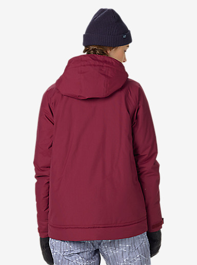 Burton Radar Jacket shown in Sangria