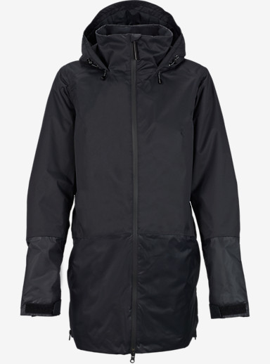 Burton Spectra Jacket shown in True Black / True Black Metallic