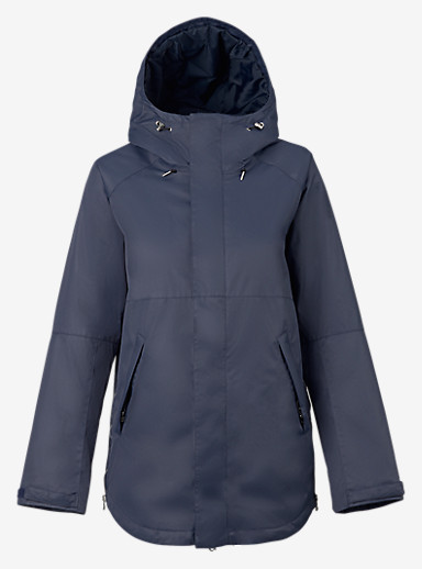 Burton Mystic Jacket shown in Mood Indigo
