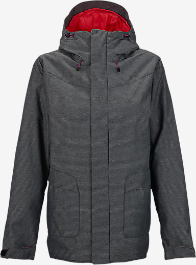 Burton Cadence Jacket shown in True Black [bluesign® Approved]