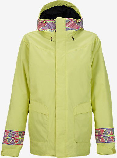 Burton Cadence Jacket shown in Sunnylime Masai Print [bluesign® Approved]