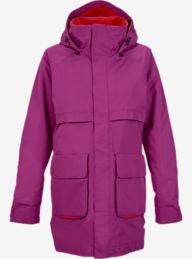 Burton Mirage Jacket shown in Grapeseed / Burner [bluesign® Approved]