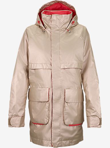 Burton Mirage Jacket shown in Sandstruck Metallic / Tropic