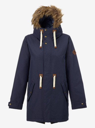 Burton Saxton Parka Jacket shown in Mood Indigo