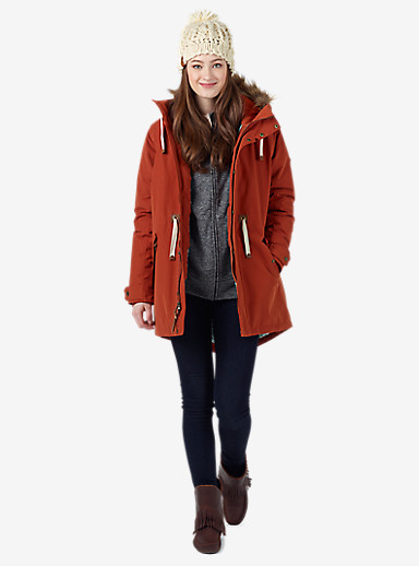 Burton Saxton Parka Jacket shown in Picante