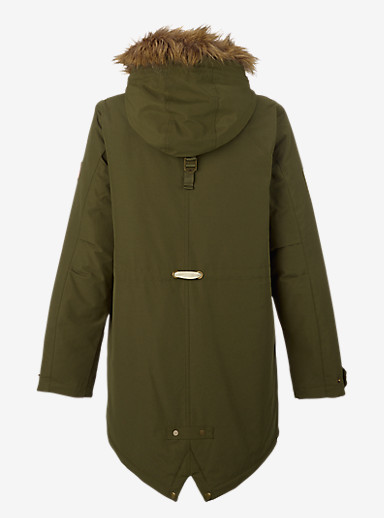 Burton Saxton Parka Jacket shown in Keef