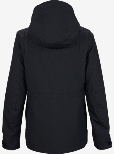 Burton TWC Flyer Jacket shown in True Black