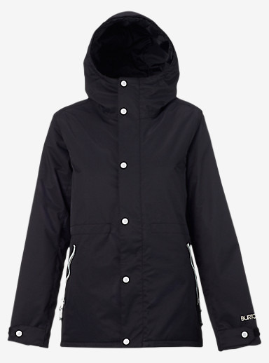 Burton TWC Yea Jacket shown in True Black