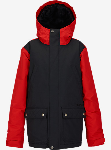 Burton Boys' TWC Greenlight Jacket shown in True Black / Burner [bluesign® Approved]