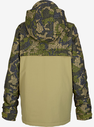 Burton Boys' TWC Greenlight Jacket shown in Grayeen / Drop Camo [bluesign® Approved]